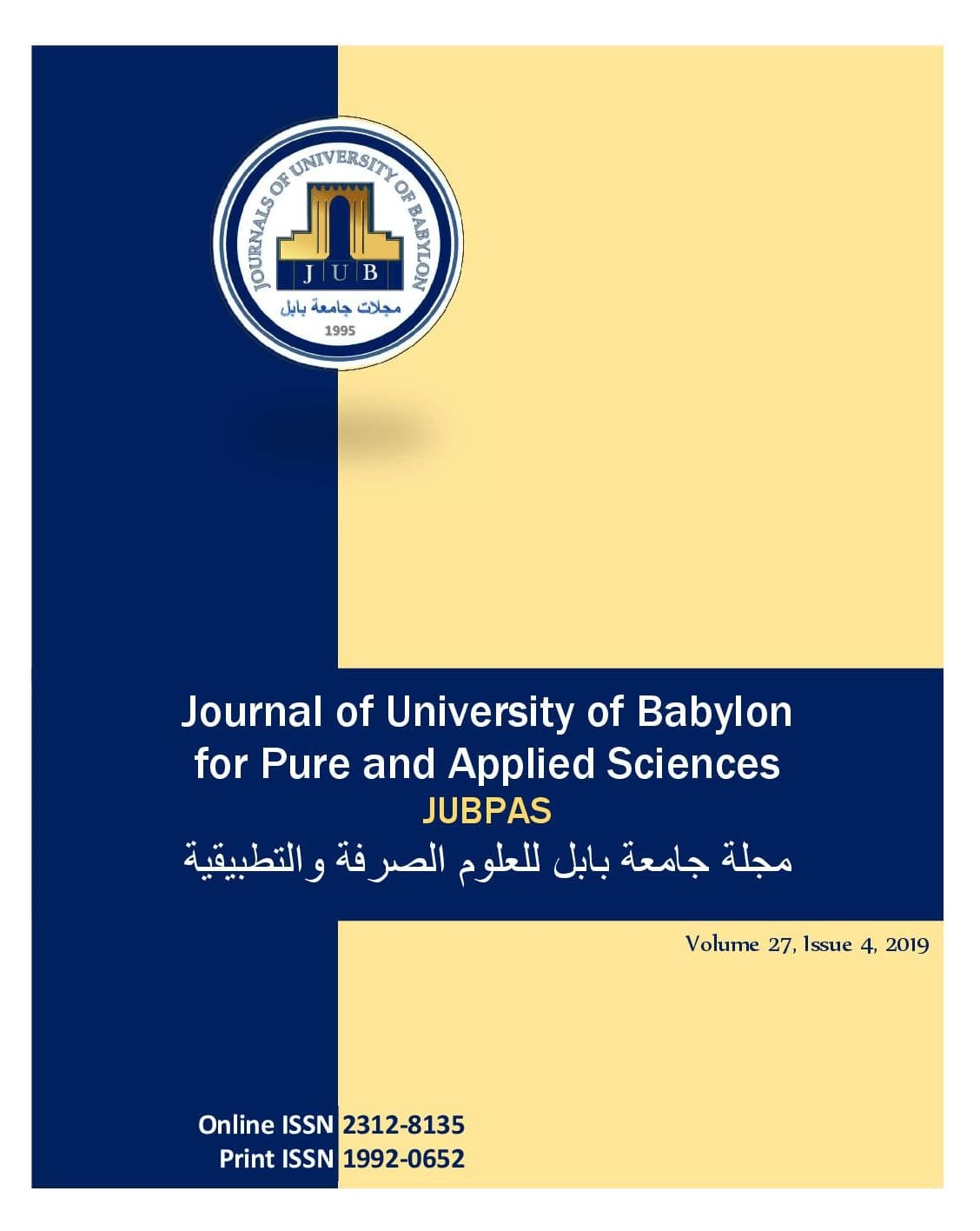 JUBPAS, vol. 27, no. 4, 2019